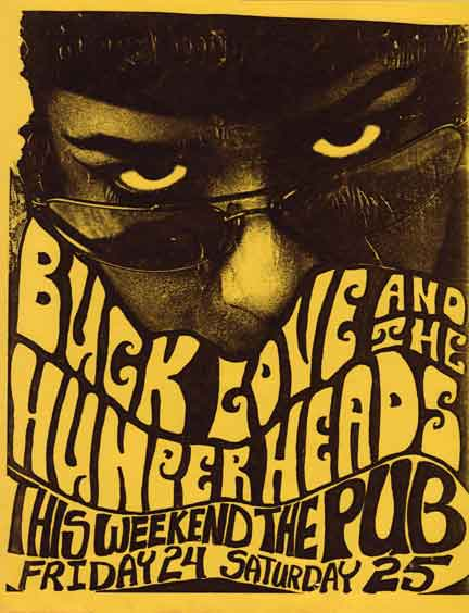 BLHH PUB posters from the 1990's